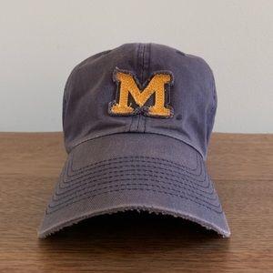 Puma University of Michigan Adjustable Hat, Navy